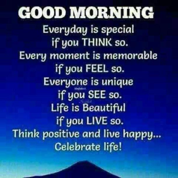 Good Morning Inspirational Quotes & Sayings