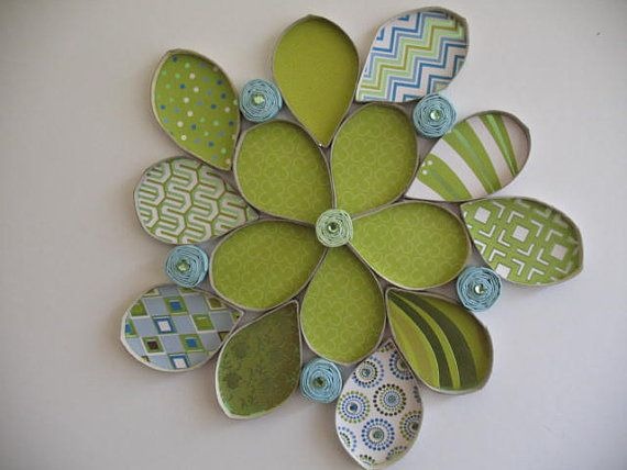 Wall flower art upcycled toilet paper rolls recycle paper towel wall flower art upcycled toilet paper rolls recycle paper towel mightylinksfo
