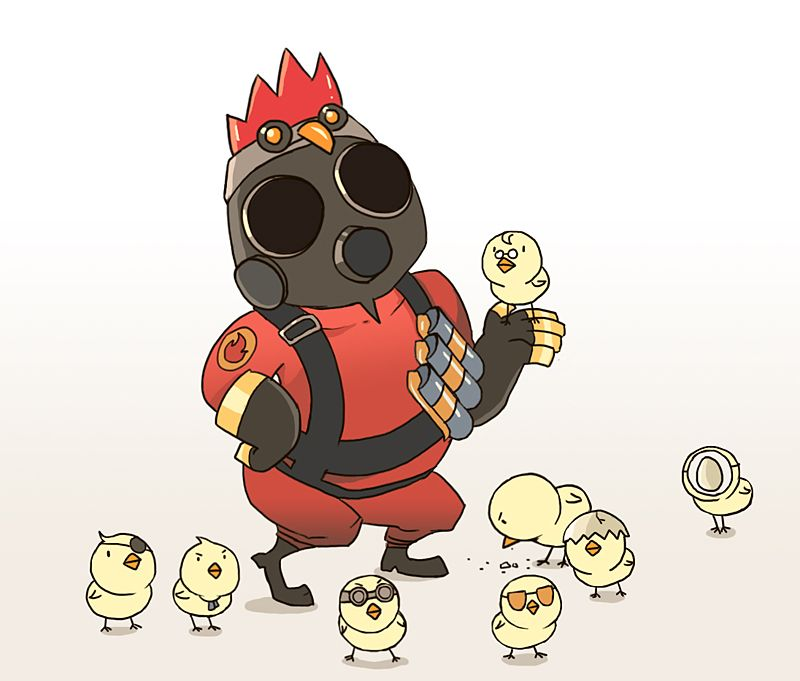 TF2 Pyro by ShinySoul on deviantART Games Pinterest – Tf2 Birthday Card