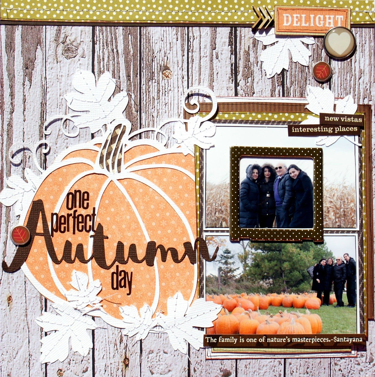 Little Scraps of Magic: One Perfect Autumn Day