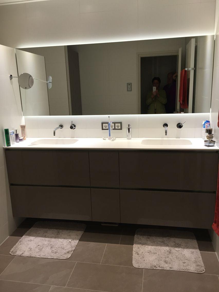 Met keuken onderkasten van Systemat een badkamer meubel maken ...