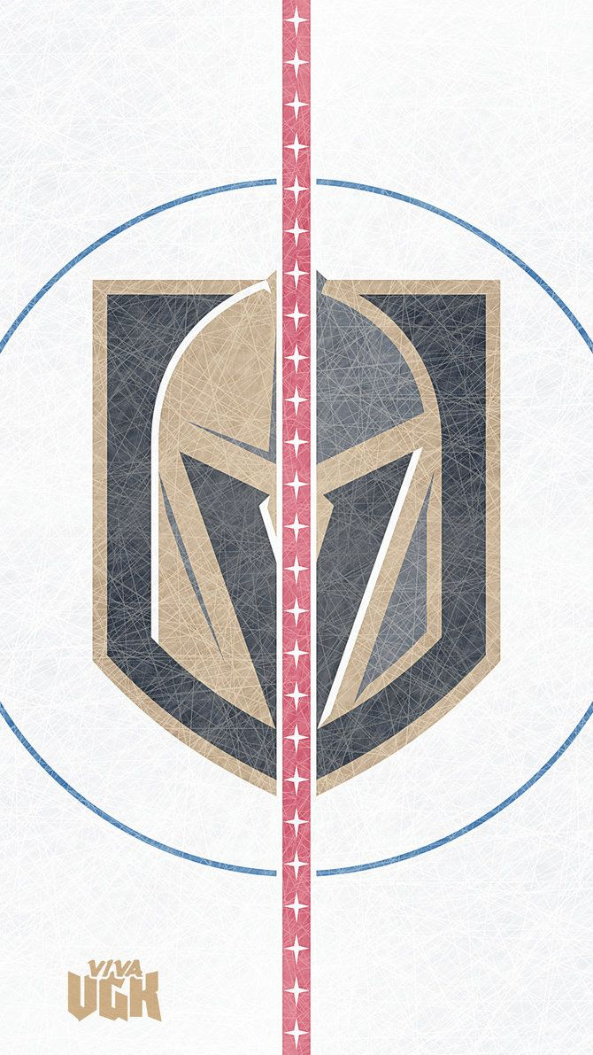 Vegas Golden Knights Center Ice Mobile Wallpaper With Images