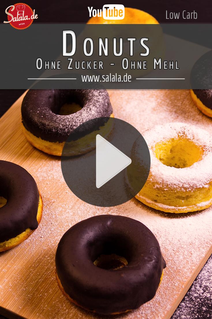 Wir Backen Heute Donuts Ohne Mehl Und Ohne Zucker Donuts Das Ist Das Geback Mit Dem Loch In Der Mitte Und Eig Low Carb Rezepte Low Carb Backen Low Carb Susses
