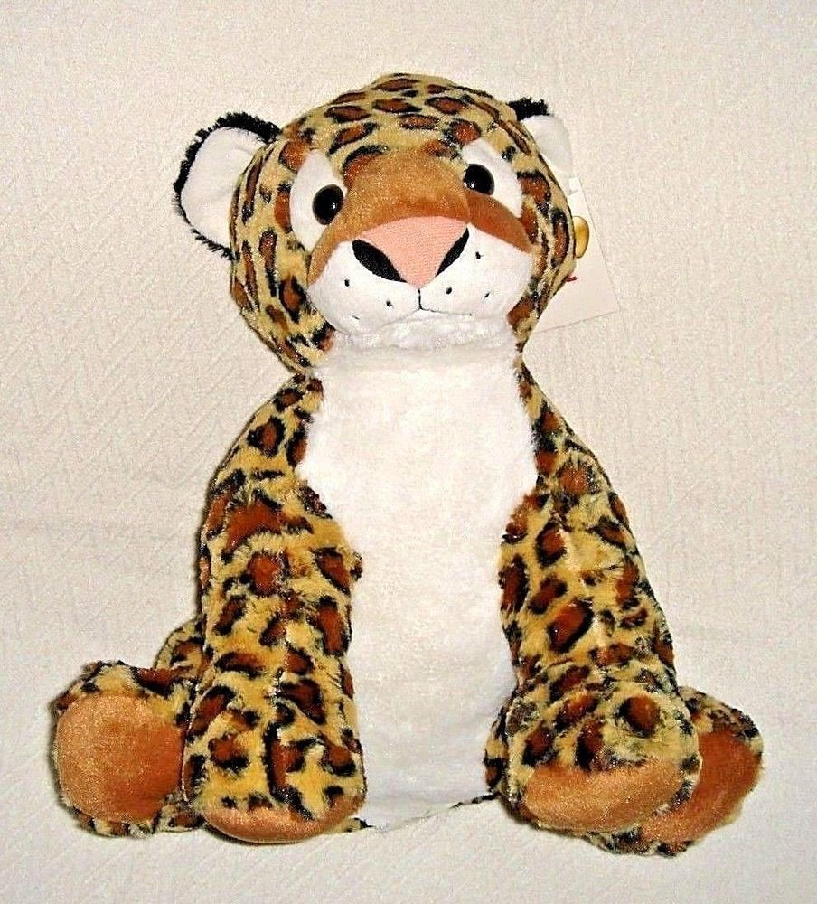 Leopard Large Sitting Plush Soft Big Stuffed Animal Jungle Kidstoy 15 X 22 New Bestmadetoysinternational Big Stuffed Animal Animals Toys [ 1000 x 904 Pixel ]