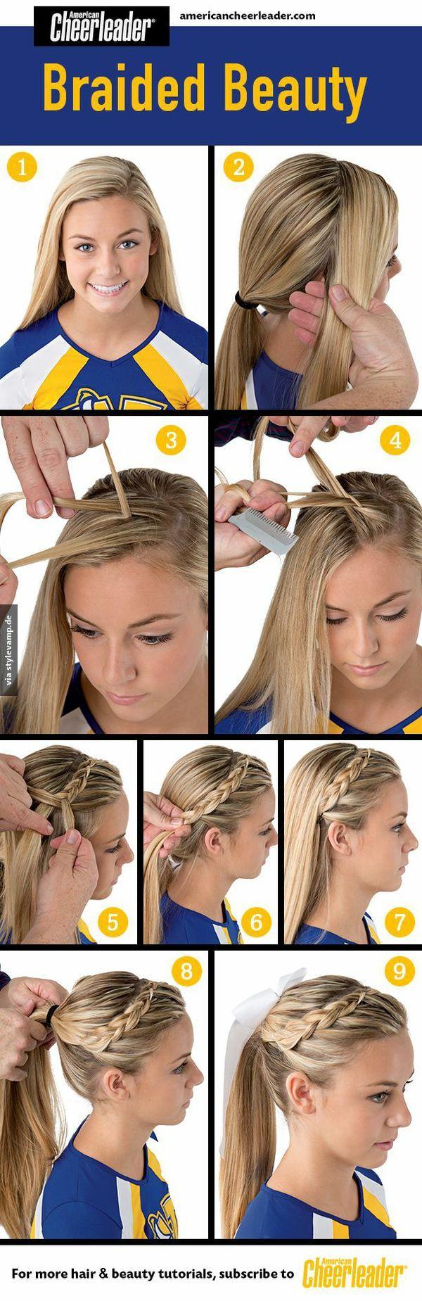 Zur schönheit geflochten hair pinterest hair style cheer and