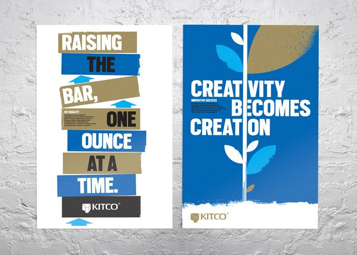 Kitco Metal Quotes A Series Of Posters For Kitco Canada's Leading Precious Metals .