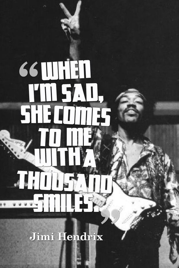 Jimi Hendrix Quotes Unique 16 Jimi Hendrix Quotes Remind You To Live Your Life To The Fullest