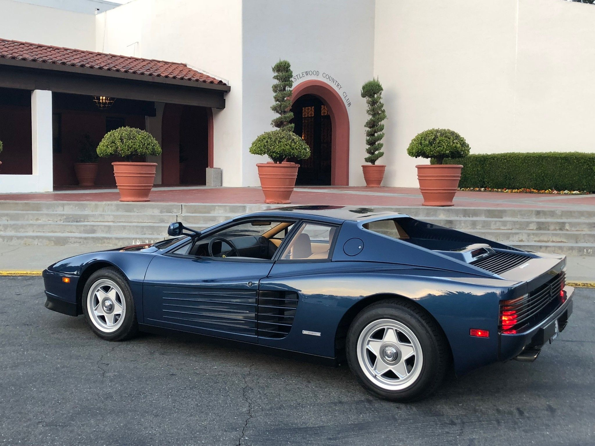 Blu Sera 1986 Ferrari Testarossa With Images