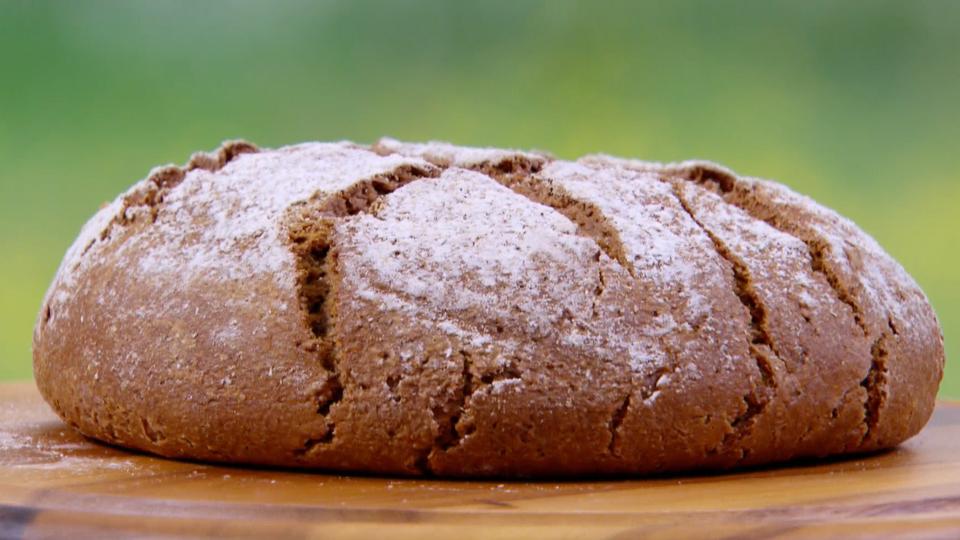 Rye Bread Recipe | Pbs food, British baking show recipes, Food