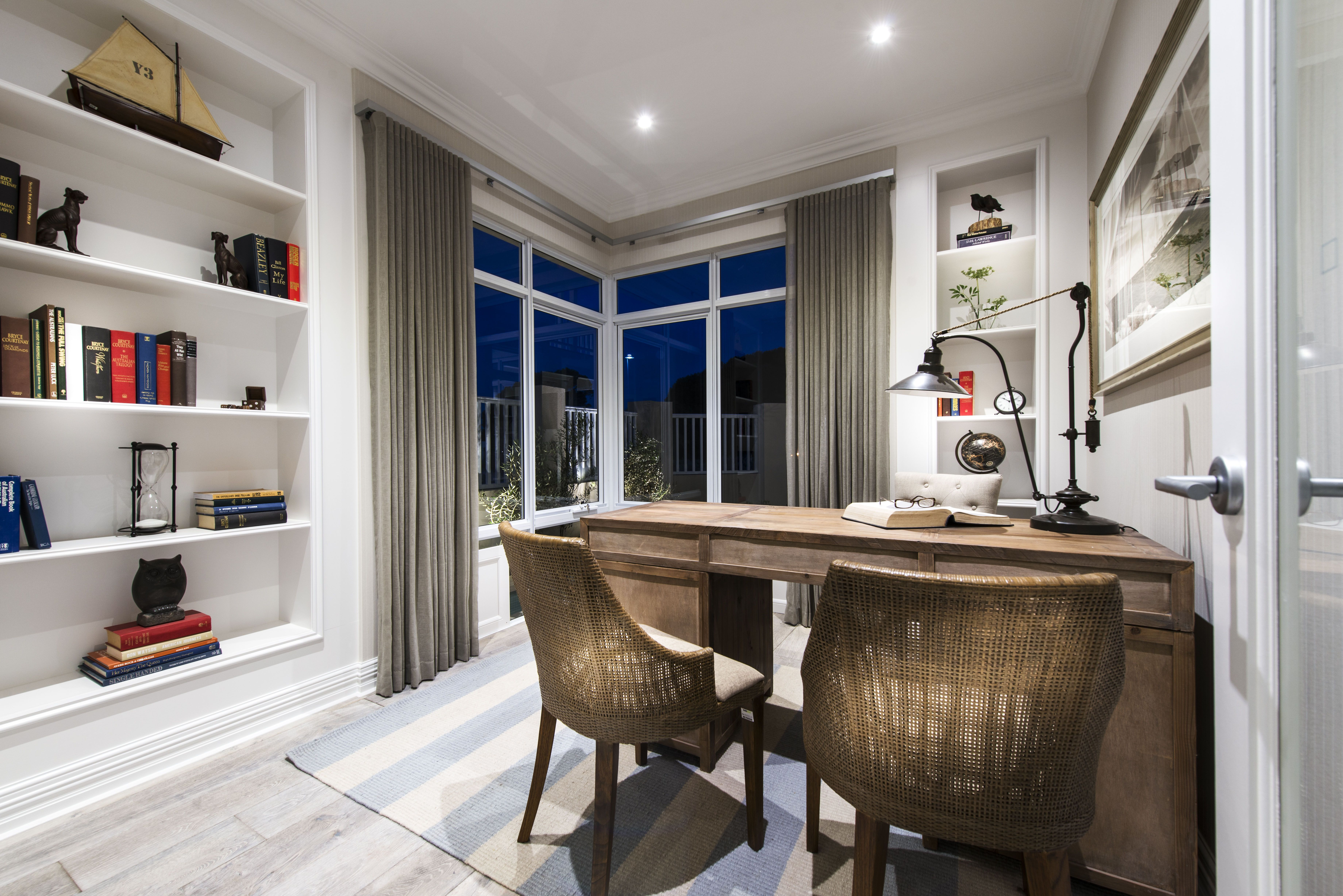 The Grayson Custom Home by Webb \u0026 Brown-Neaves   Corner windows ...