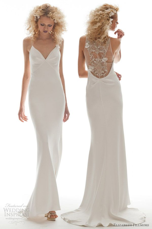 elizabeth fillmore gowns | 2013 Elizabeth Fillmore Dramatic Back ...