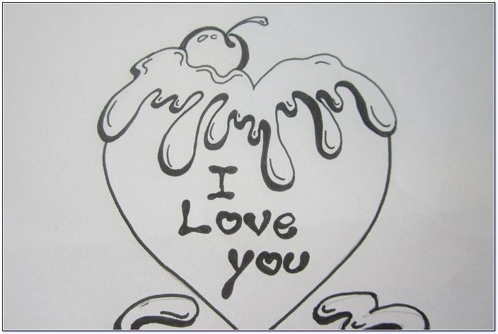 Simple Love Things To Draw Best Pictures Gallery Favorites In
