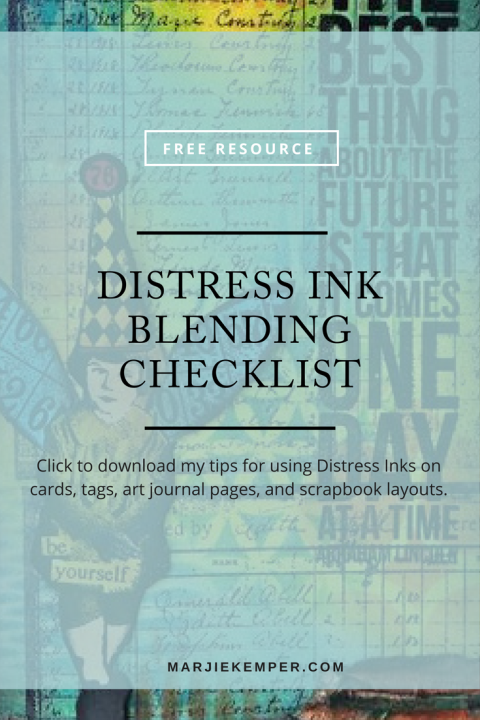 Click here to get my Distress Ink Blending Checklist!