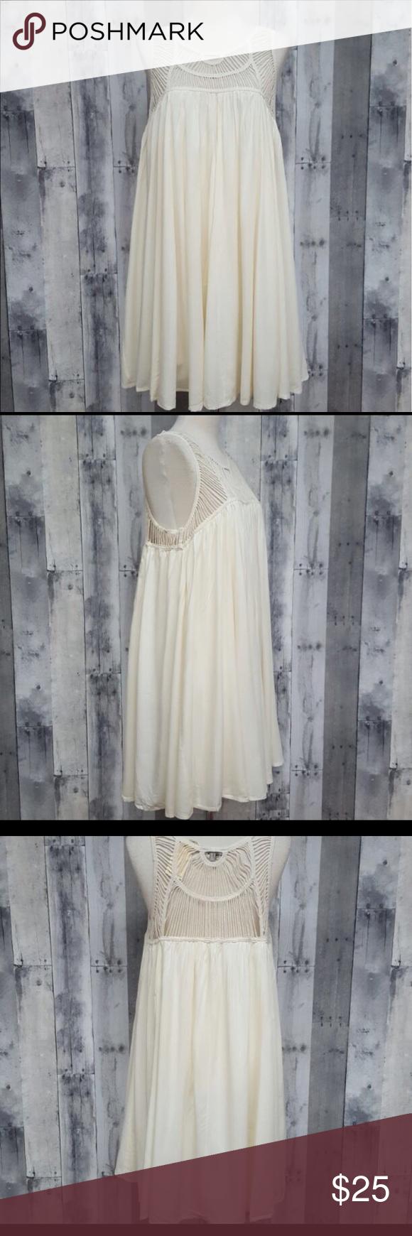 White boho dress brand new with tags dresses midi my posh