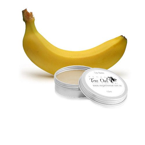 Banana Lip Balm by Vegan Tree Owl is Gluten Free and Vegan.