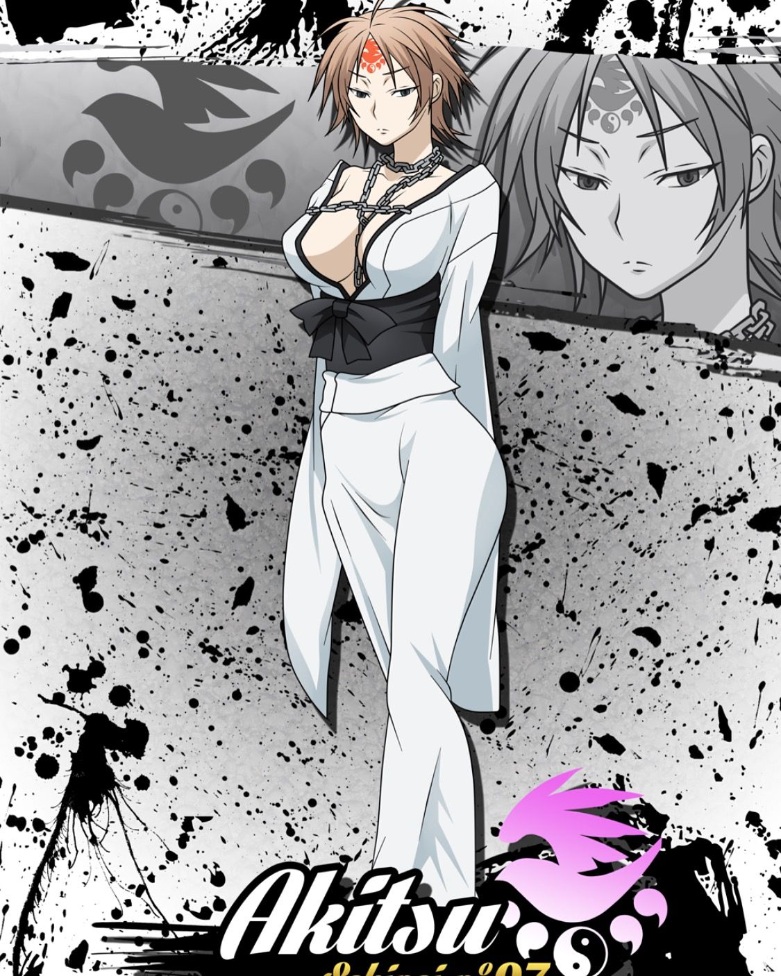 Sekirei manga art anime art high school deviantart anime girls