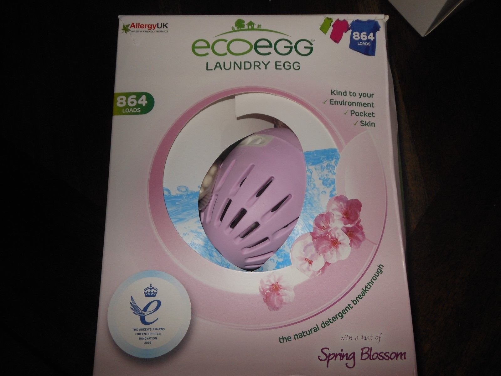 Detergents 78691 Ecoegg Laundry Egg Eco Friendly 1008 Loads