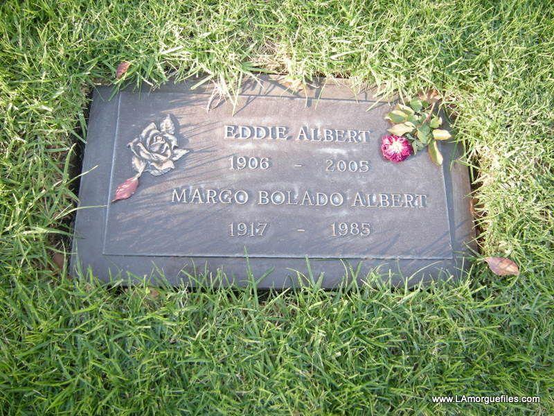 Image detail for -Los Angeles Morgue Files: Celebrity Grave: Actor Eddie Albert 2005 ...