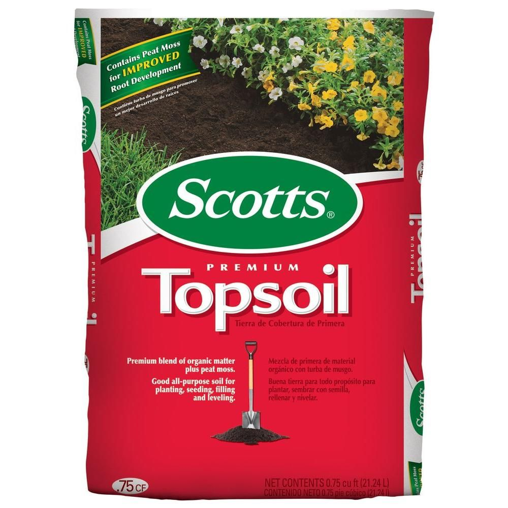 Scotts Premium 0.75 cu. ft. Top soil71130756 Top soil