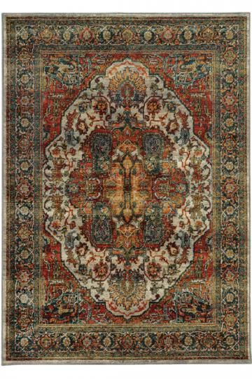 Flanders Area Rug Synthetic Rugs Patterned Traditional Machine Made