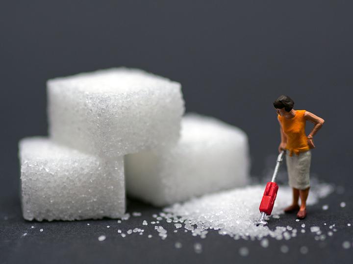 sugar cubes, mess, house work