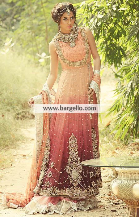 Luxurious Anarkali Bridal Dresses Syracuse New York NY US for ...