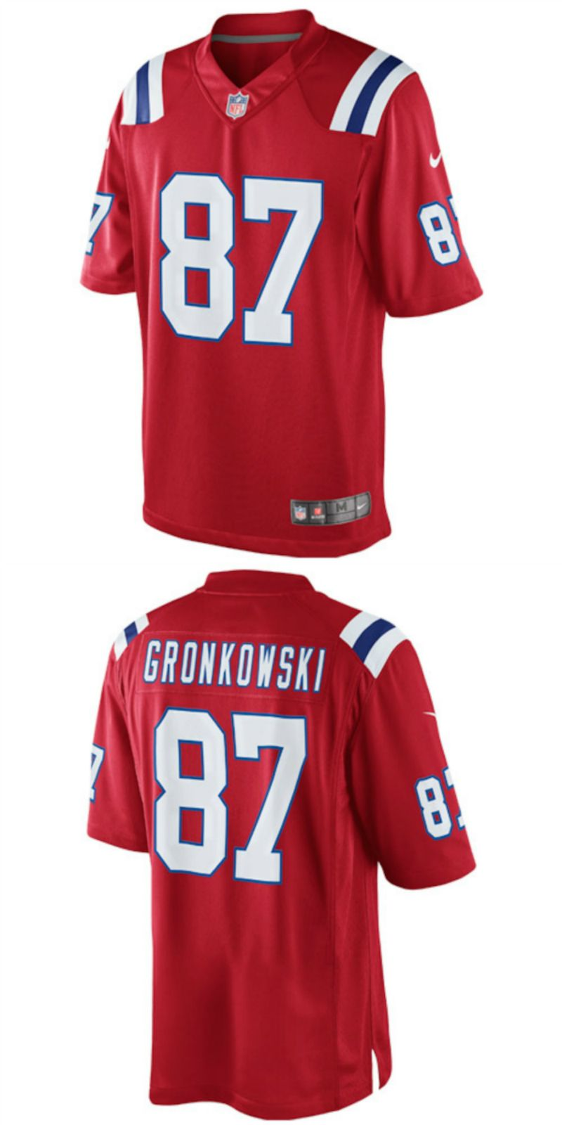 new style 3e94d ff407 UP TO 70% OFF. Rob Gronkowski New England Patriots Nike ...