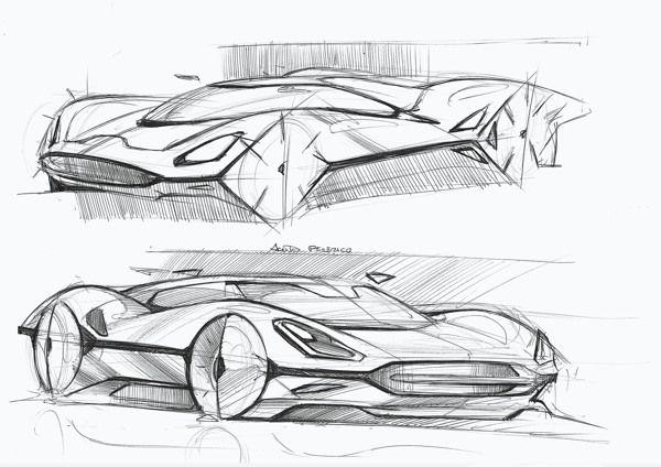 Some sketches on Behance   Car Design   Pinterest   Auto skizze ...