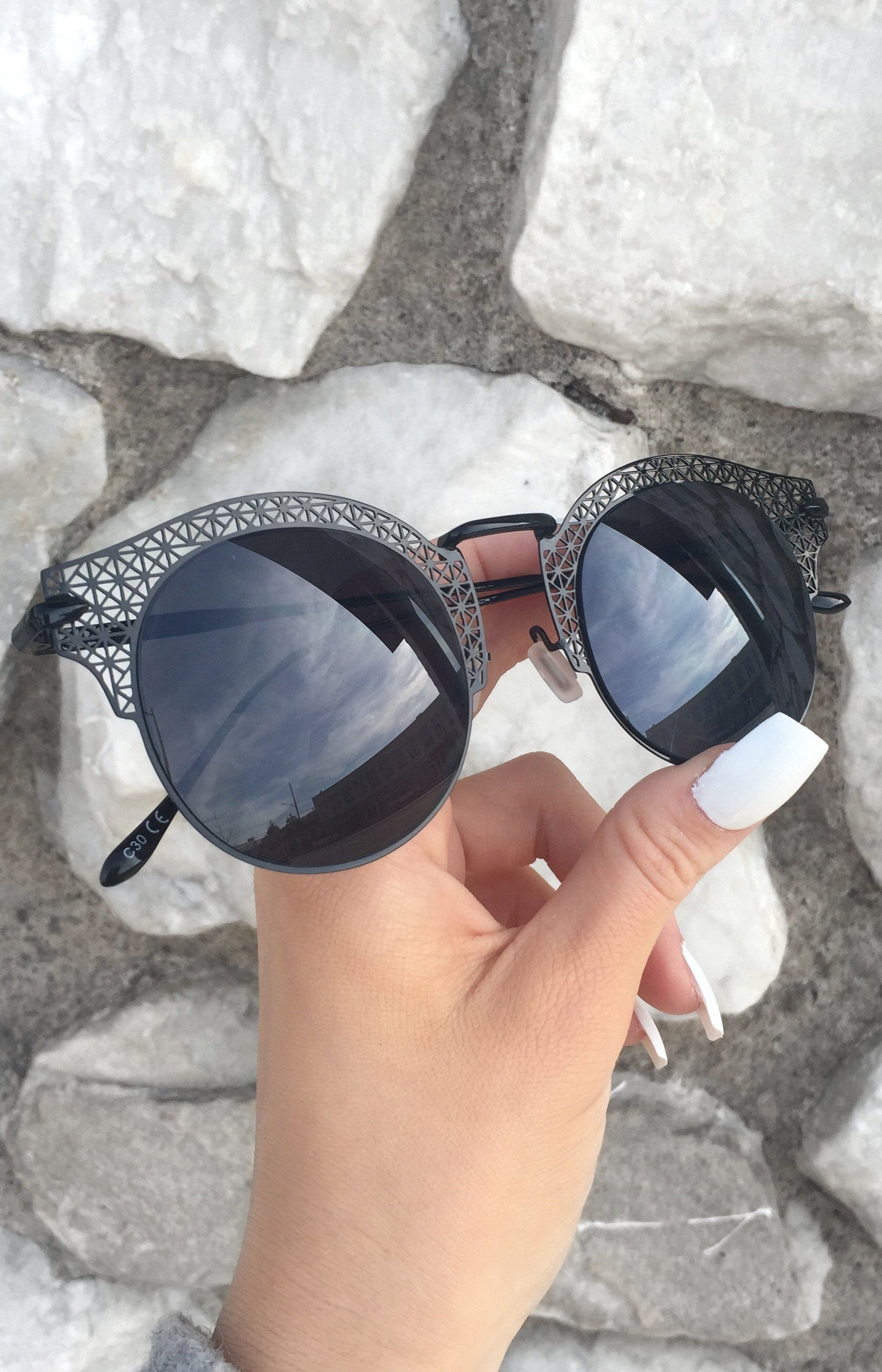 7bd082119c COLOR - Black Frame Black Lens CONTENT   CARE - Handmade   Imported - One