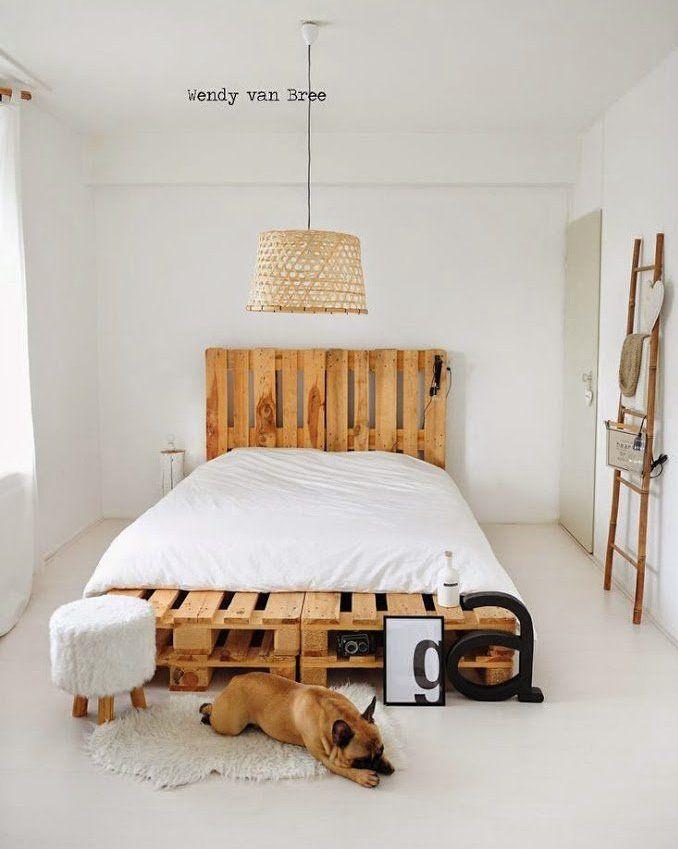 Ideas de muebles para habitación hechos con pallet | TRABAJOS Y ...