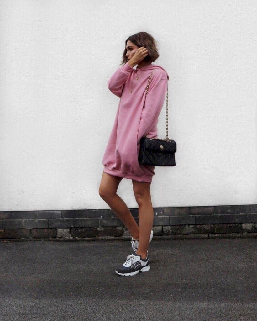 81d69b7d67a 47 Adorable Ways to Wear Oversized Hoodie  Style  Women Style  Women Style