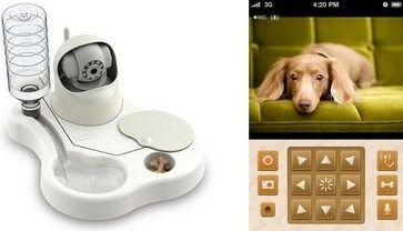Remoca Dog Food Bowl Camera Home Electronics Mike Elgan Dog