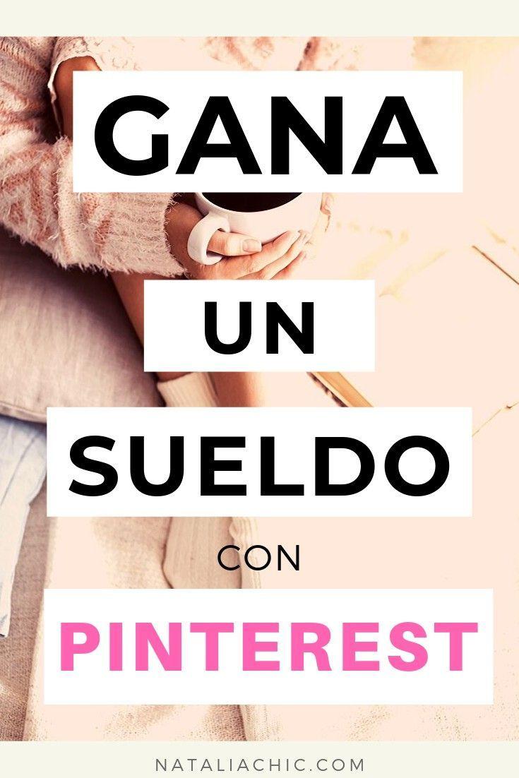 Gana sueldo con Pinterest #redessociales