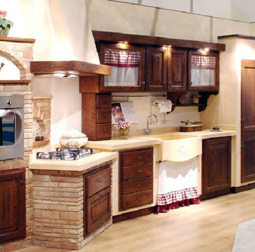 Ante In Legno Per Cucina In Muratura - Missionmeltdown.com ...