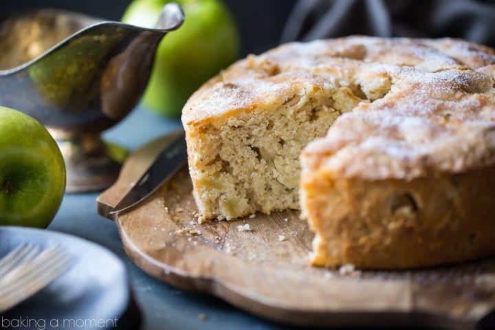 Photo of Irish Apple Cake with Whiskey Hard Sauce