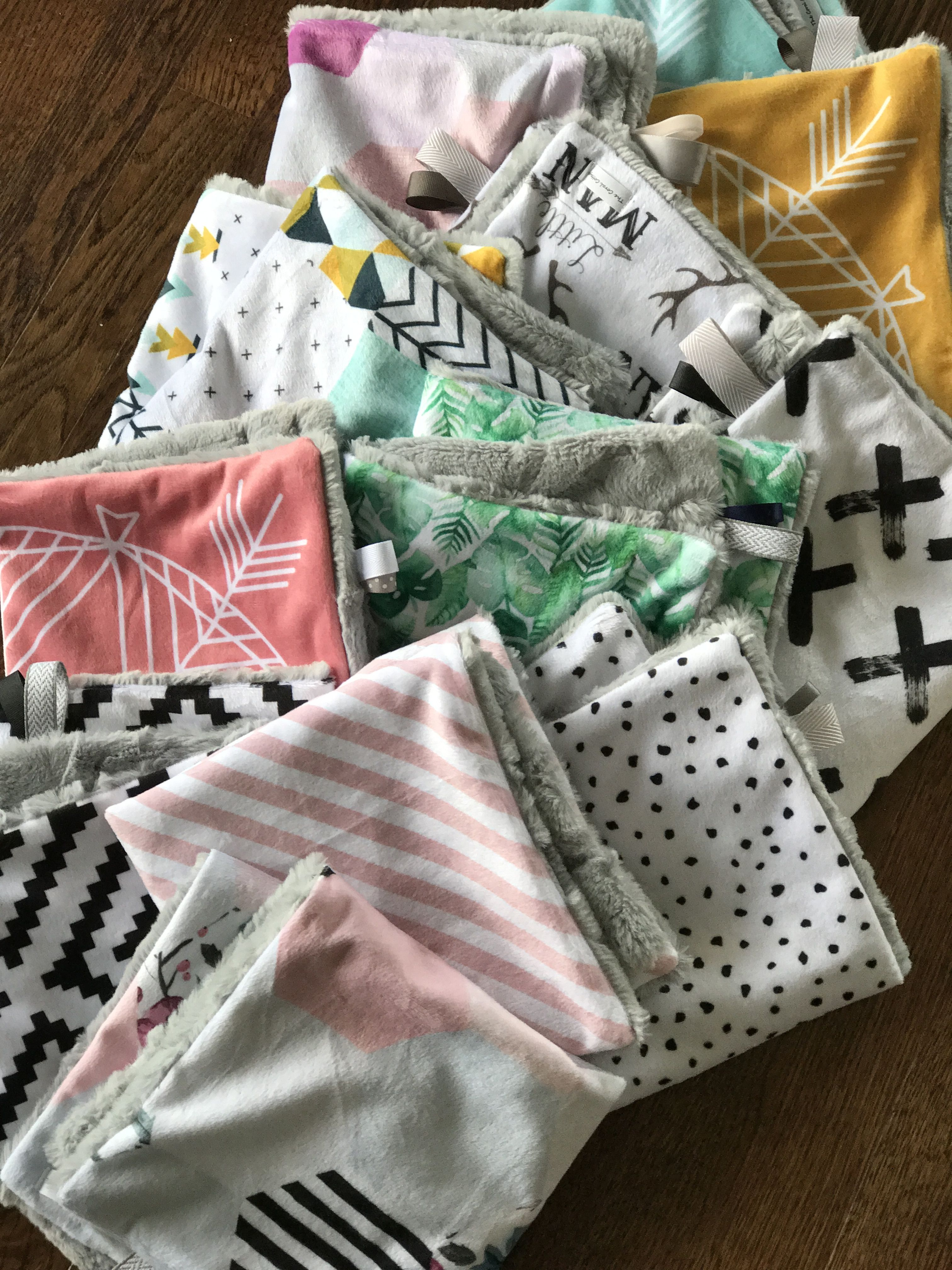 Pin by the coral cottage on double cuddle minky blankets pinterest