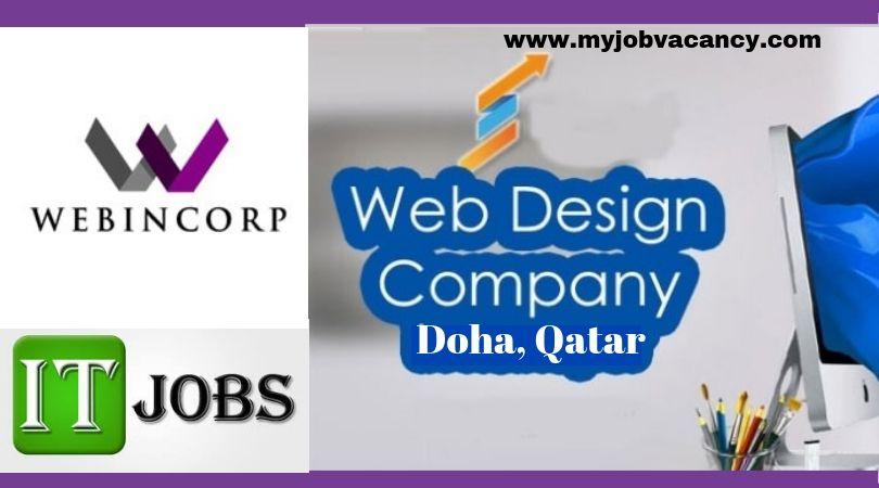 Webincorp It Job Vacancies With Images Job Web Design Company