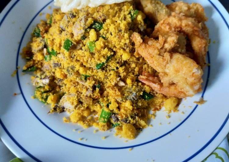 Cara Membuat Nasi Jagung Goreng Seafood Resep Nasi Goreng Jagung Makanan