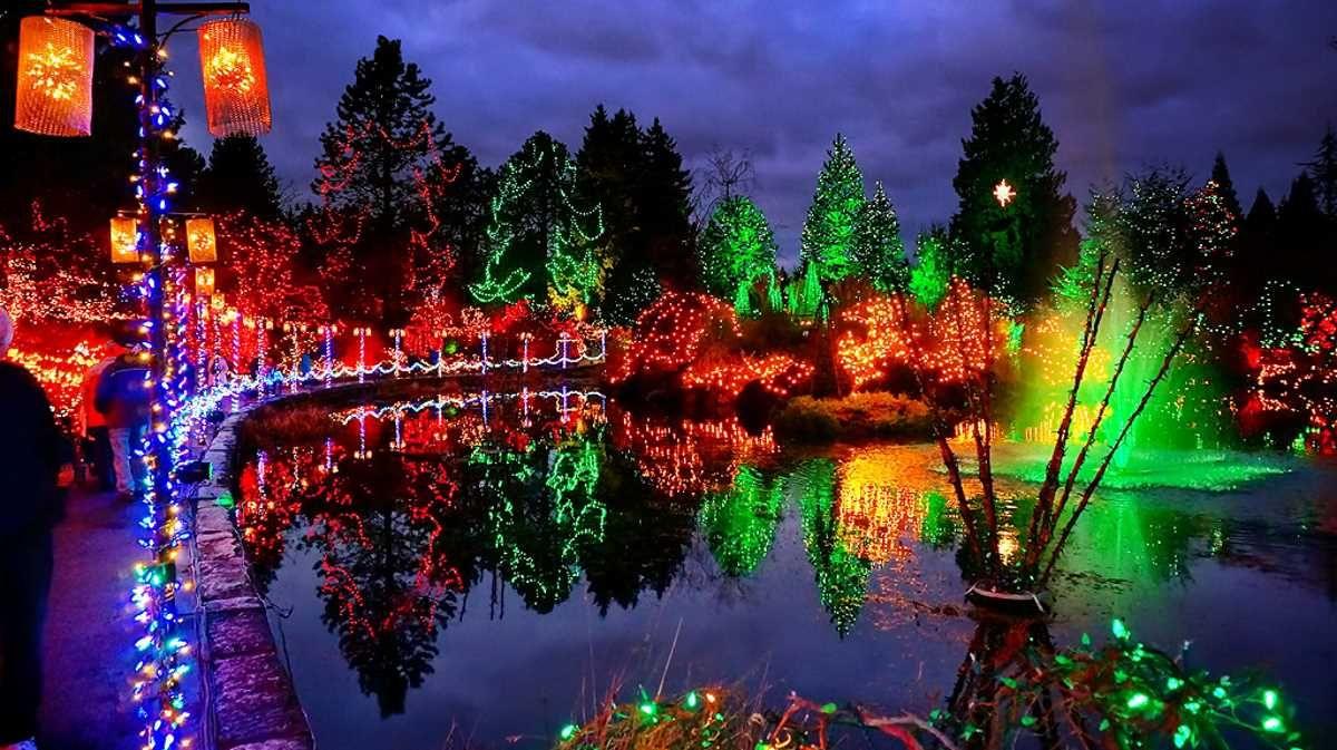 66cc695d93897b3de0fc67aef2b5a300 - Van Dusen Gardens Christmas Lights 2019