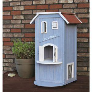 trixie katzenhaus cat 39 s home katze spielzeug usw. Black Bedroom Furniture Sets. Home Design Ideas