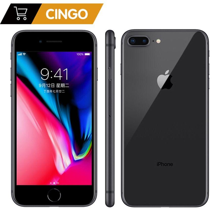 Unlocked Apple Iphone 8 Plus 2675mah 3gb Ram 64g 256g Rom 12 0 Mp Fingerprint Ios 11 4g Lte Smartpho Iphone Apple Iphone Iphone 8 Plus