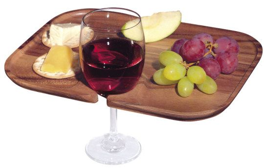 Wine glass holder plate. You\u0027d have to be careful about tipping the plate  sc 1 st  Pinterest & Entertaining Tips: Buffet Plates Mingling Plates and Social and ...
