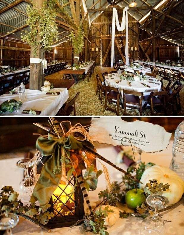 Hochzeit In Einer Scheune Feiern Ideen Fur Tischdeko Exzellente