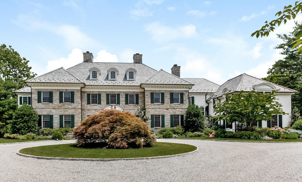 8 2 Million 10 000 Square Foot Colonial Mansion In Scarsdale New York Stone Mansion Mansions French Cottage