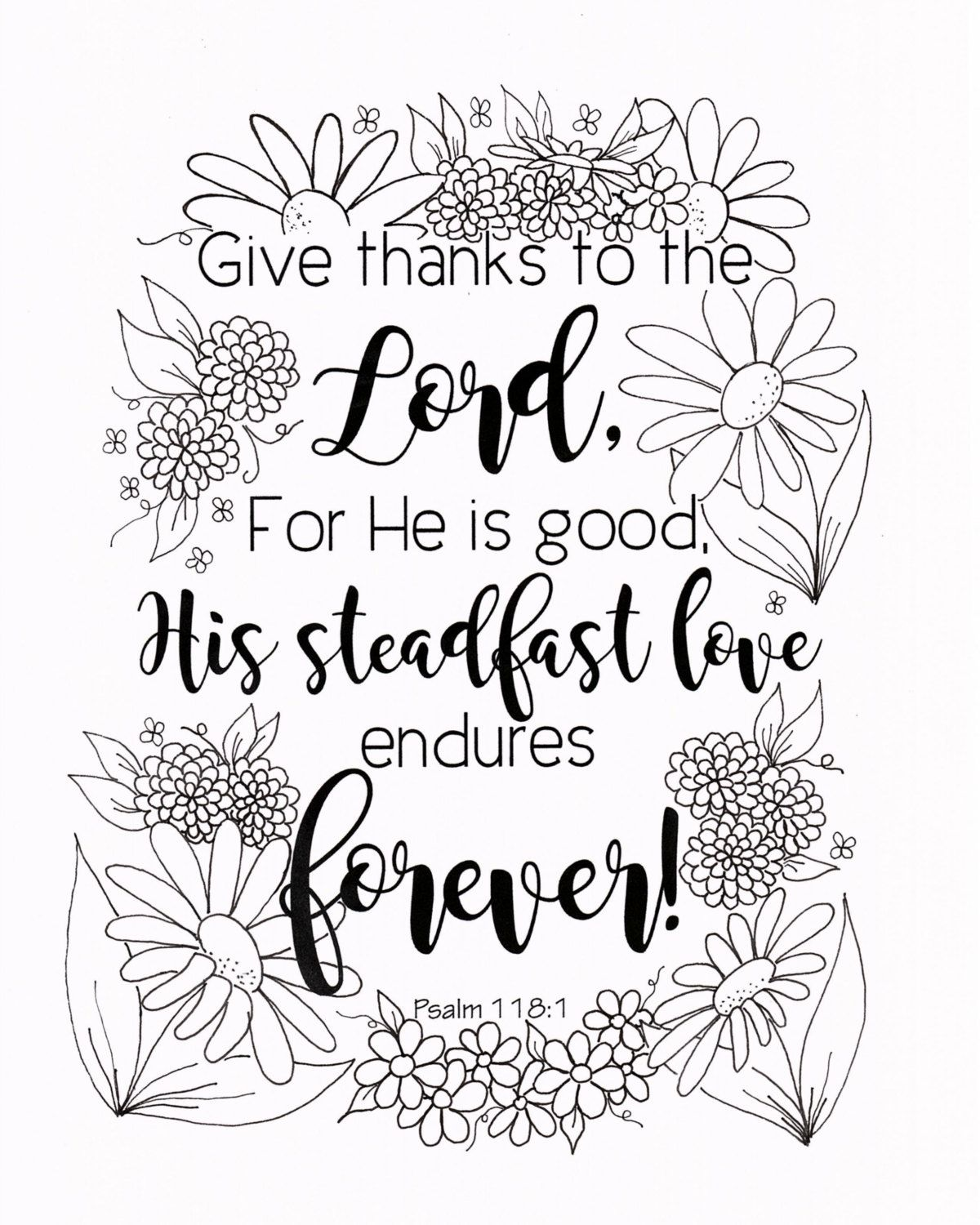 Christian Coloring Page Bible Verse Coloring By