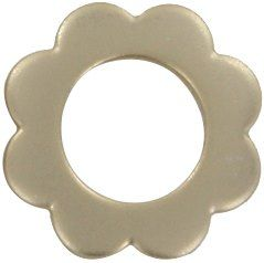 Screw-together Flower Grommet - 11mm inside diameter