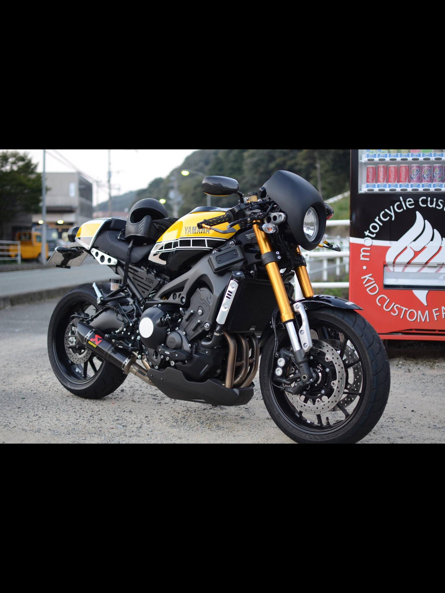 Moto yamaha scrambler cars motorcycles bobber forward mt09 yamaha - Yellow Motorcycle Gear Bike Ideas Caf Racers Dreams Sweet Life Motors Motorbikes
