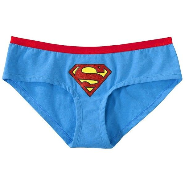 DC Comics SUPERMAN SUPERGIRL Womens Lace Hipster Panty Underwear