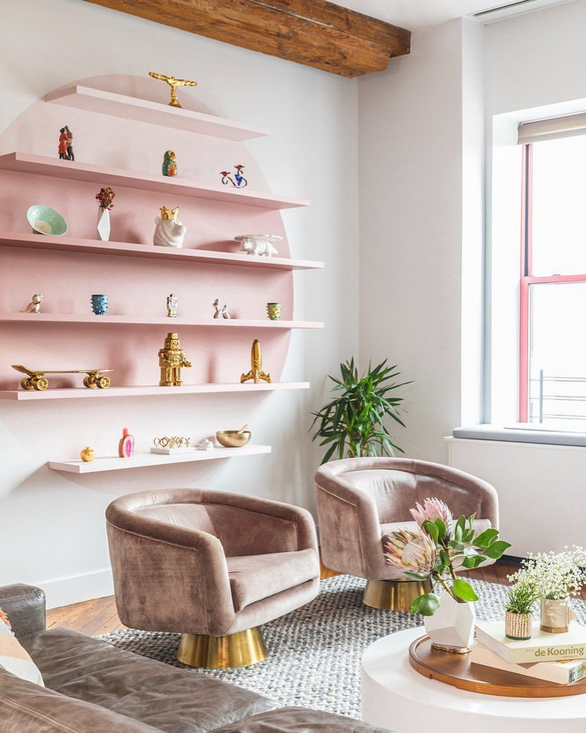 9 909 Likes 153 Comments Domino Dominomag On Instagram We Have A Lot Of Knick Knacks We V Cozy Living Room Design Living Room Designs Living Room Sets Living room knick knacks