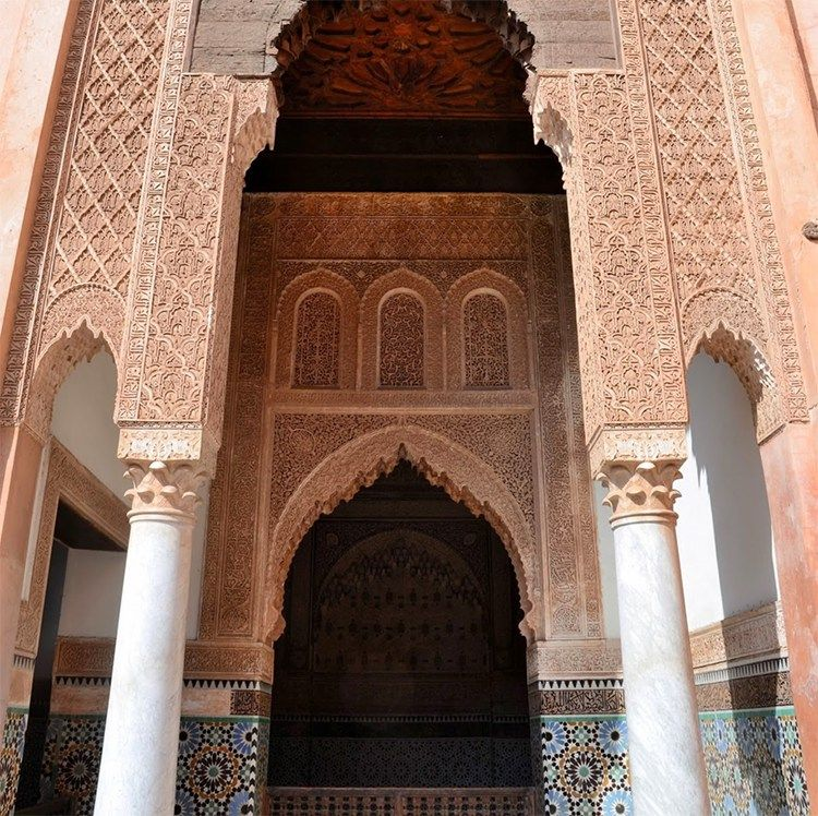 Marrakech Morocco Saadian Tombs Marrakech morocco